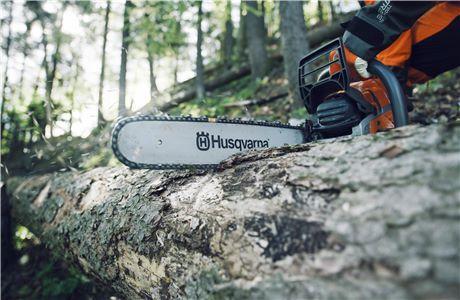 Motorna žaga Husqvarna velja za avtoriteto na področju gozdarske opreme.
