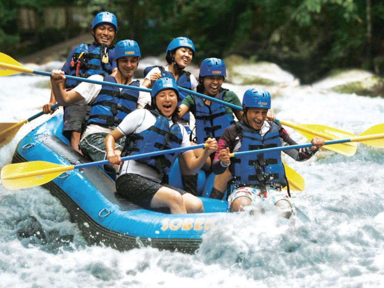 Na rafting v spremstvu svoje družine, prijateljev ali sodelavcev